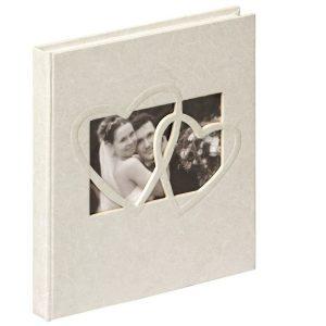 Libro de firmas de boda elegante