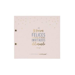 Libro de firmas de boda Mr Wonderful