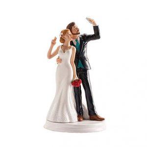 Marido y mujer haciéndose una selfie
